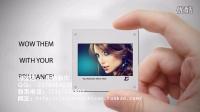 手拿照片展示时尚大气高档代做视频私人订制服务促销影视AE模板
