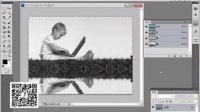 PS教程练习 实战将通道中的图像粘贴到图层中