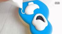分享篇--冰雪奇缘中雪宝造型糖霜饼干