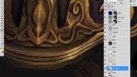 【ZBrush雕刻】次世代角色全程解析-5.6颜色贴图金属材质绘制4