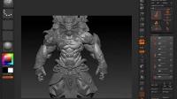 【ZBrush雕刻】次世代角色全程解析-4.1烘焙