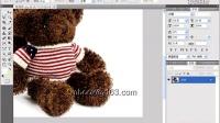 [PS]94.[爱尚学院]PhotoShop Cs5 教程  利用内容识别填充快速去除水印