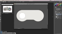 万门大学PS技法5.3 写实图标绘制(游戏手柄) 上