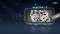 AE模板678-玻璃视频墙