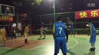 深圳报业篮球精英赛-高怒劫(橙)vs龙华篮球部落(蓝)-CG最后单节连拿16分逆转