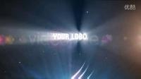 AE模板489-炫丽光线划过LOGO演示AE模板