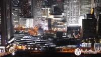 AYX國際橋社藍光HD高清延時攝影素材153-時空の栞 -4K Osaka NIGHT VIEW- Timelapse 大阪夜景_