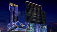 时代广场LED夜景动画亮化设计景观照明设计