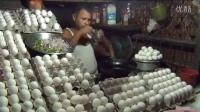 阿三鸡蛋煎面包食物
