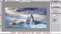 adobe photoshop7.0教程案例之二:天鹅美女 PS软件下载