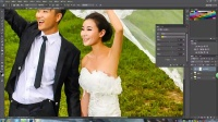 摄影后期调色实例第二课:婚纱外景人像调色思路浅谈