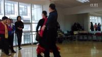 老师表演恰恰舞