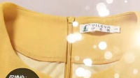 伊乐雅品牌女装秋冬大码修身显瘦拼接长袖2015新款秋季连衣裙