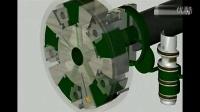 3D模拟仿真动画 汽车发动机工作原理