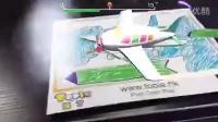 《Toole》3D涂色玩具,彩色铅笔画出的效果哦!五彩鸟大家觉得我设计的怎么样呢?
