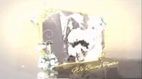 浪漫花朵边框中婚礼影像展示AE模板_51_1364