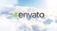 AE模板-云层穿梭Logo展示 Clouds Intro