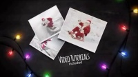 圣诞彩灯包围中欢乐影像展示AE工程_51_1189