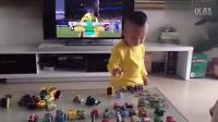 淘宝折扣网[www.duorouquan.com]迷你回力车惯性车工程车套装 儿童玩具车实物实拍展示