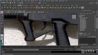 学习maya 步枪-导入图片基础建模 零基础到精通