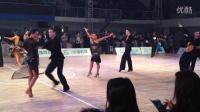 2015年院校杯国标舞比赛甲A组拉丁半决赛恰恰 李明阳柳均霖