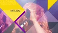 音乐活动宣传视频时尚演唱会包装工程文件AE模板