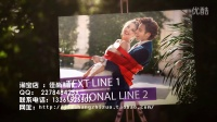 AE模板史诗风格梦幻相册动感影集代做结婚婚礼开场视频制作片头MV