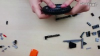 乐高Lego Technic 42007 摩托车开箱