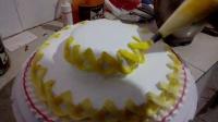 蛋糕制作全过程,蛋糕裱花,基础教学——代顺