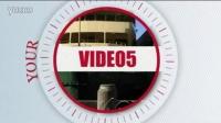 简约时尚大气现代公司企业宣传片AE模板 时间线电视栏目 娱乐 婚礼制 相册模板 作片头片尾