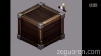 游戏素材制作初级教程-2.5D箱子绘画