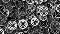 A0615 11个黑白复古绚丽花纹图形视频素材 AE工程模板