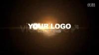 企业宣传片开场通用logo展示ae片头模板 震撼光线粒子特效展示