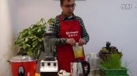 Vitamix早餐篇之简单十谷米浆--青岛食尚自然崔老师