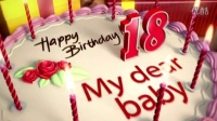 生日蛋糕礼物祝福动画AE模板AE00100