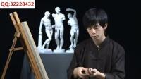 素描人像教程_色彩搭配原理与技巧