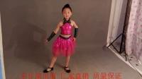 六一新款女童现代舞表演服装亮片纱裙幼儿舞蹈服儿童爵士舞演出服