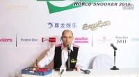 2015.3.28尊龙娱乐PTC总决赛冠军乔佩里采访视频(独家首发)