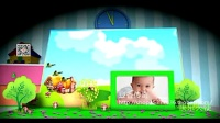立体翻页效果的宝宝成长纪念册AE模板