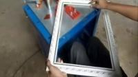 视频: 相框锯角机器 十字绣打角机厂家 拼角机规格14