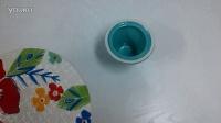 彩色花蛋糕托盘(圆形加底座)