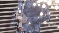 2015春季新款男装 精致潮男长袖牛仔夹克 牛仔衣流行外套男装