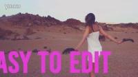 夏天照片视频剪辑时尚色彩鲜艳动态展示快乐假期旅游宣传片AE模板