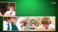 小孩小朋友生日照片故事相册周年纪念友谊家庭爱情生活相片AE模板