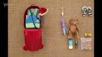 Skip Hop Zoo Kid Rolling Luggage