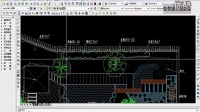 园林景观设计CAD教程_施工图绘制_灌木配置图1