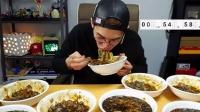 【韩国afreeca tv吃饭直播】一口一碗,13分钟挑战10碗炸酱面!巨精彩