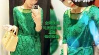 韩版2015春夏新款时尚显瘦蕾丝连衣裙子名媛气质女装连衣裙潮