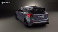 全新福特福克斯RS 3D汽车模型展示