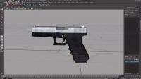 【织梦网】分享已Maya绑定的手枪Glock 17 3D模型 - cgdream - 织梦学院